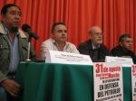 Conferencia de Prensa Movilizacion en Defensa del Petróleo y por el Rescate de la Nacion