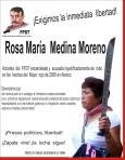 Detienen a Rosa Medina integrante del FPDT de Atenco