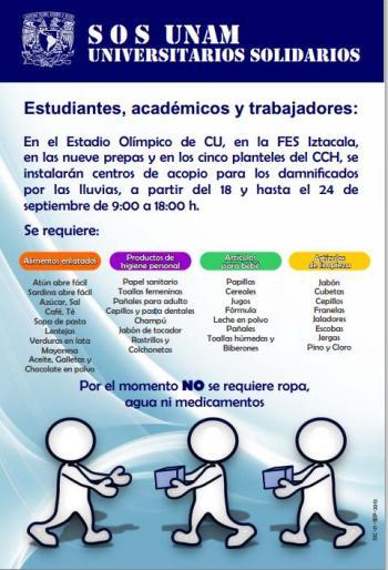 acopio UNAM