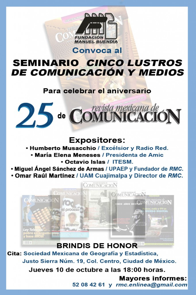 25 anversario RMC seminario
