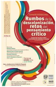 Seminario Internacional Rumbos de la descolonización, retos del pensamiento crítico