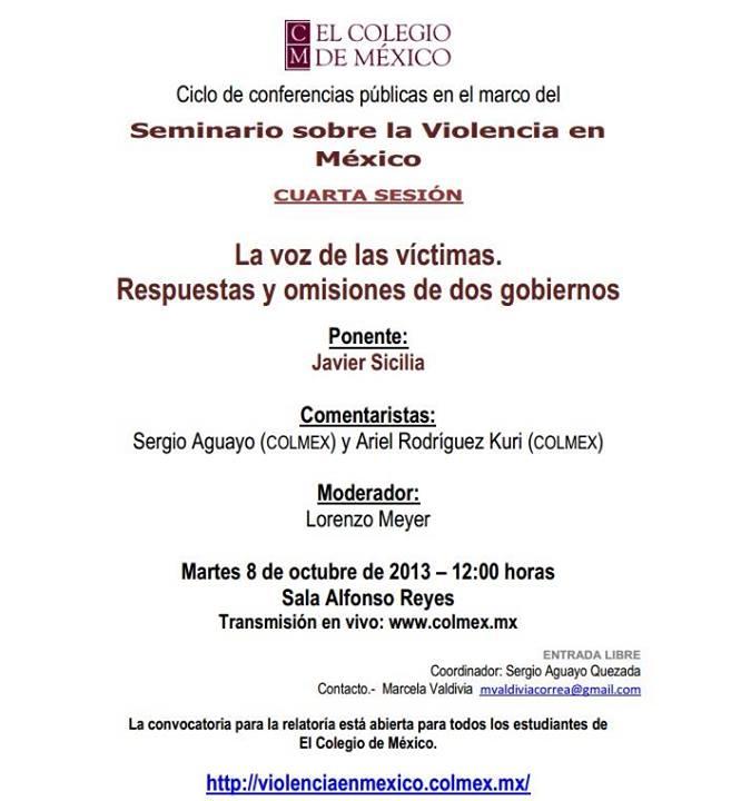 Seminario Sobre la violencia en México
