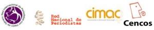 logos Cimac cencos red Nal Periodistas con vision de género