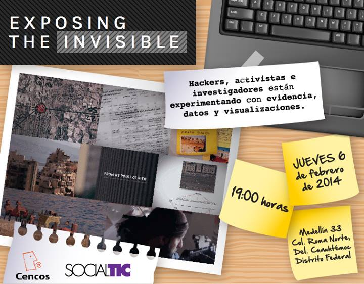 Proyección de Exposing The Invisible-Foto-SocialTIC