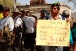 140204 Movilización damnificadso Montaña Guerrero Alimentación_009