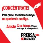 Concentración por Goyo