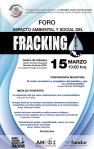 """Foro Nacional """"Impacto Ambiental y Social del Fracking"""""""