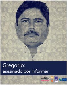 Portada informe Gregorio Asesinado por informar